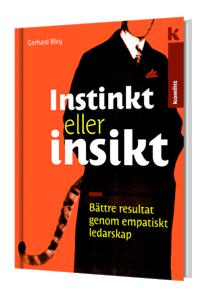 Instinkt eller insikt, Gerhard Bleys bok